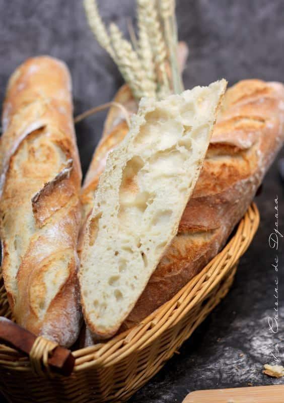 Recette de pain alvéolé au levain