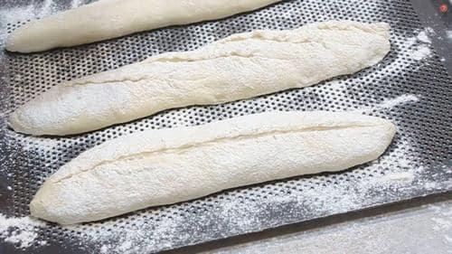 grignes sur les pains au levain