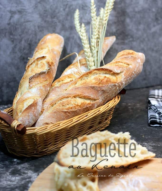pain au levain dur maison