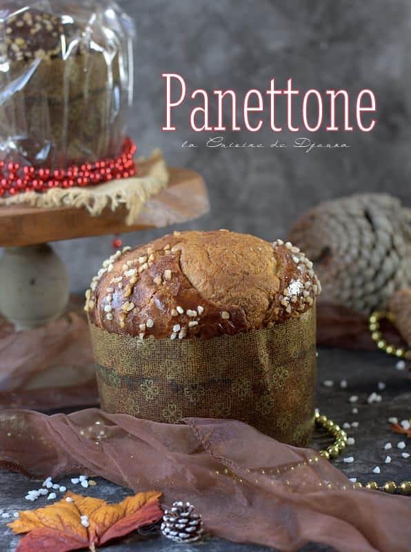 Panettoné au levain italien