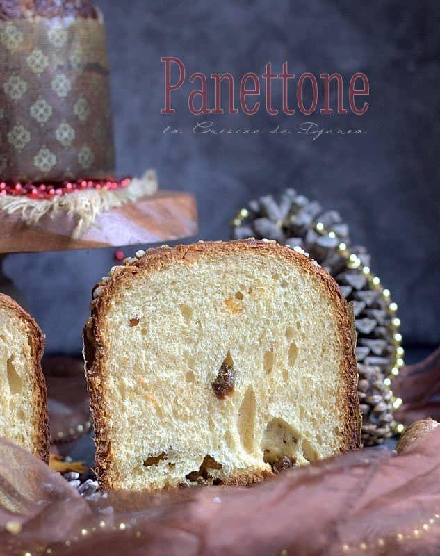 Panettone au levain mère italien
