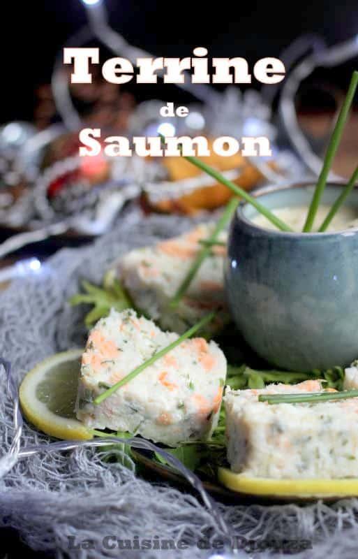Terrine de saumon et pistaches