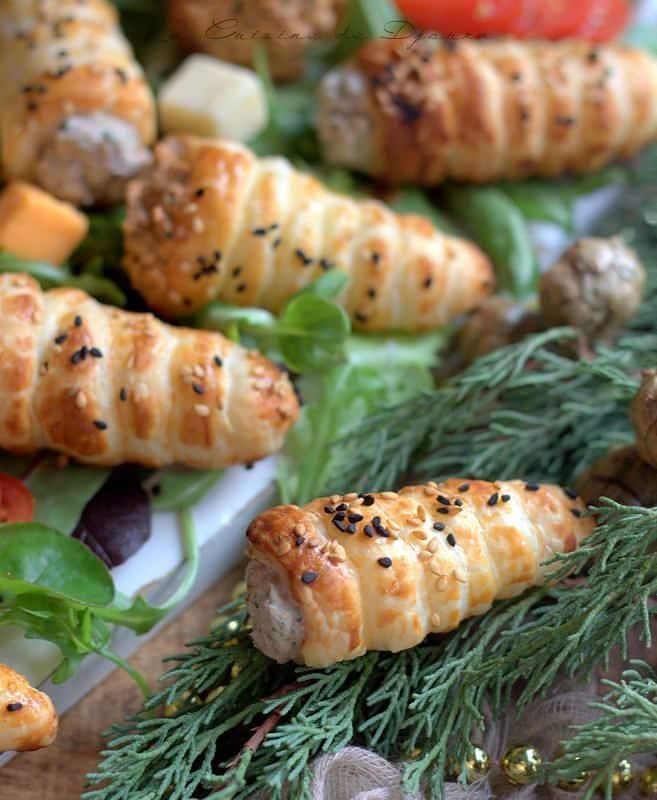 idées recettes apéro dînatoire bouchées apéritives cornet