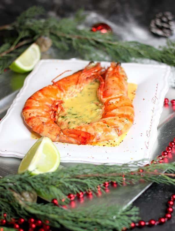 recette festive de fruits de mer