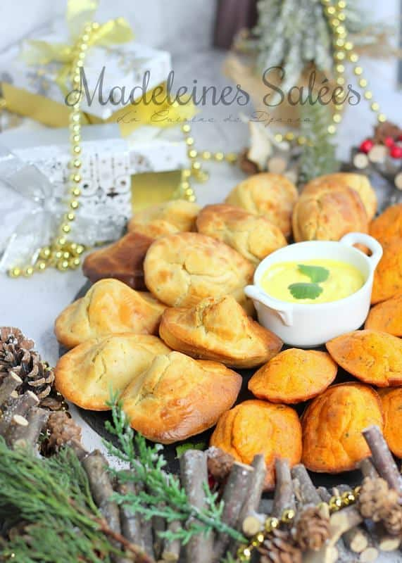 Recette de madeleines salées bechamel chevre