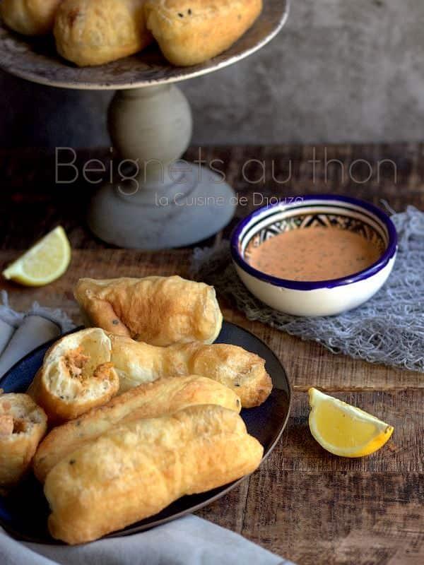 recette de beignets salés au thon