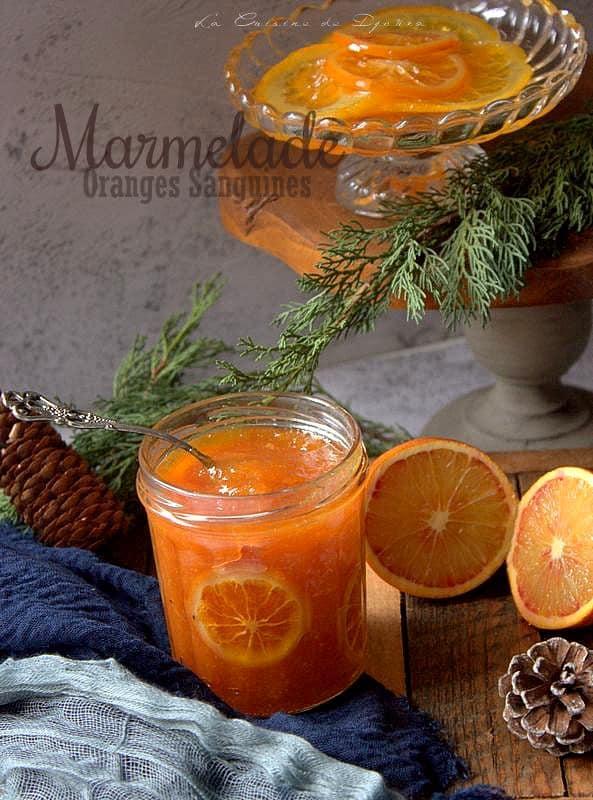 Marmelade gourmande aux oranges sanguines