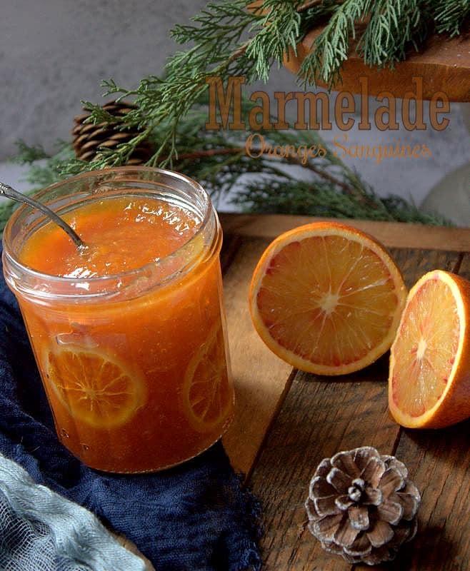 recette marmelade mixée aux oranges sanguines