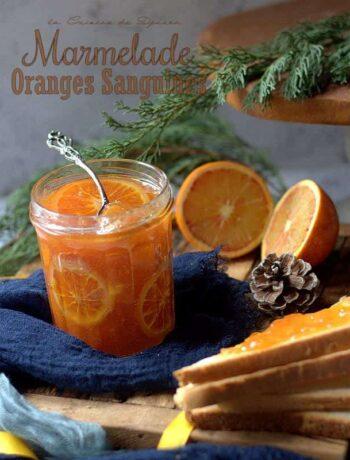 recette de marmelade d'oranges sanguines