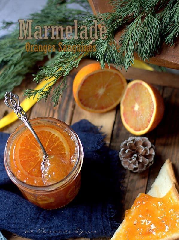 confiture d'oranges sanguines facile