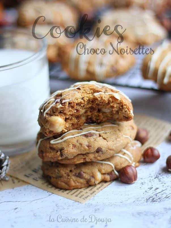 Biscuits cookie tendres et moelleux