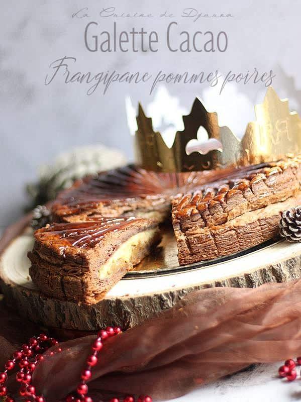 galettes feuilletage inversé cacao
