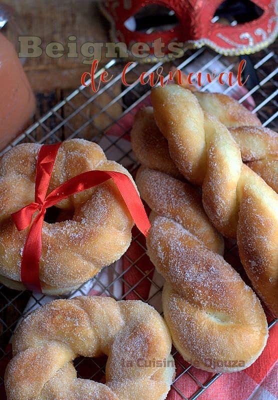Recette de beignets torsadés au sucre