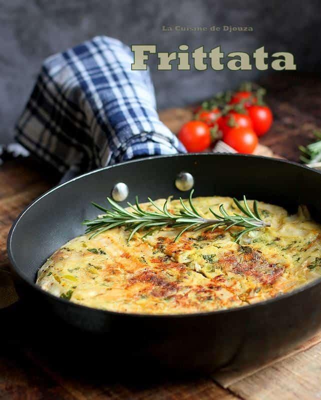 Recette omelette frittata italienne