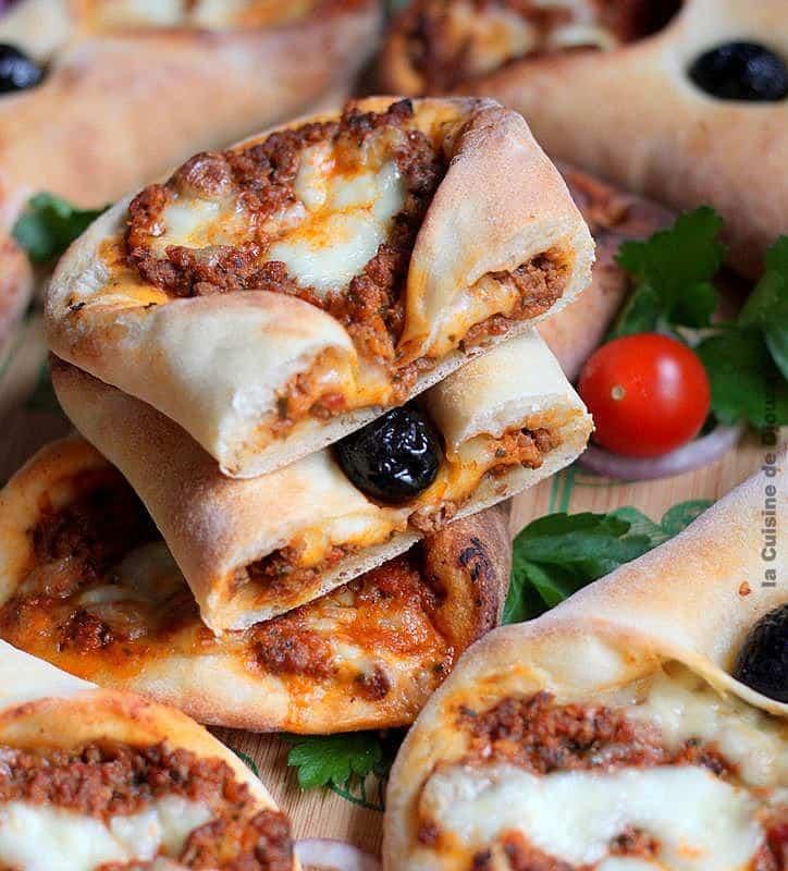 Recette de minis pizzas à la viande