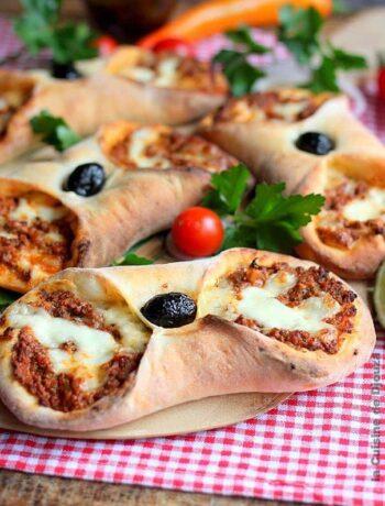 recette mini pizza fait maison