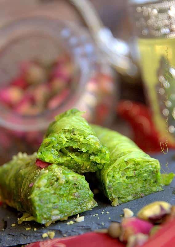 Baqlawas pâtisserie aux pistache