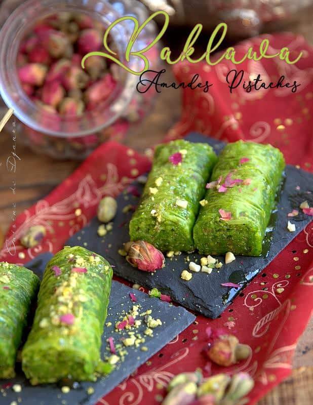baqlava turque aux pistaches