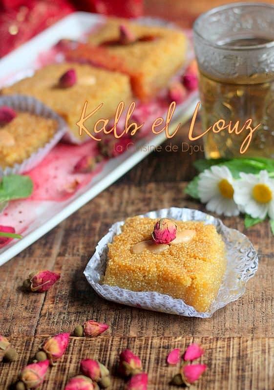 Gâteau kalb el louz facile et rapide