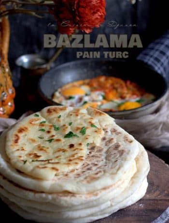 Bazlama recette de pain moelleux et plat