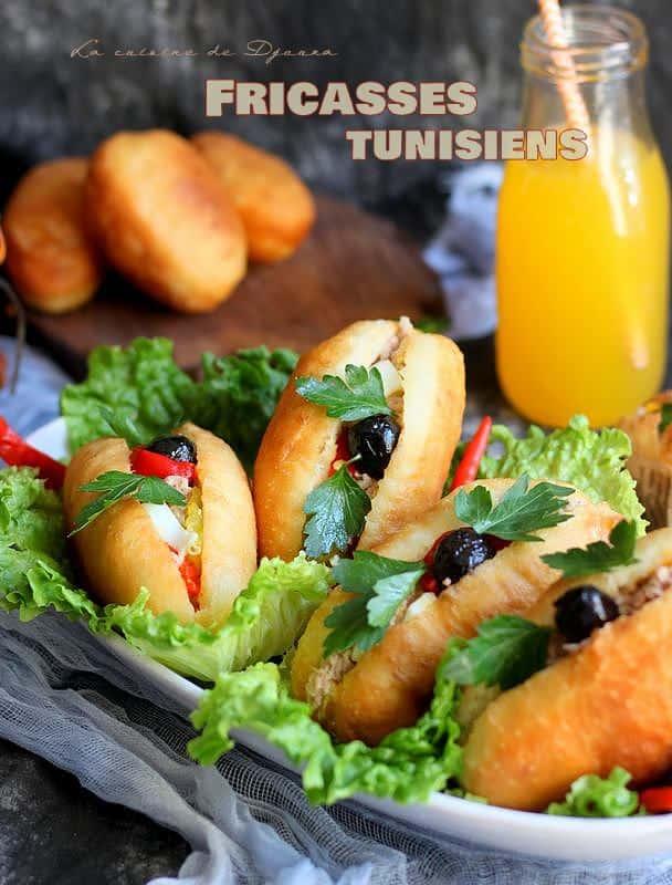 recette de fricassés tunisiens