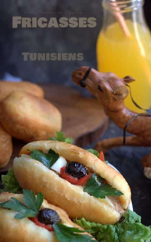 Recette des fricassés tunisiennes