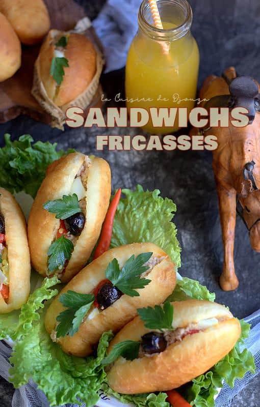 Fricassés le sandwich tunisien