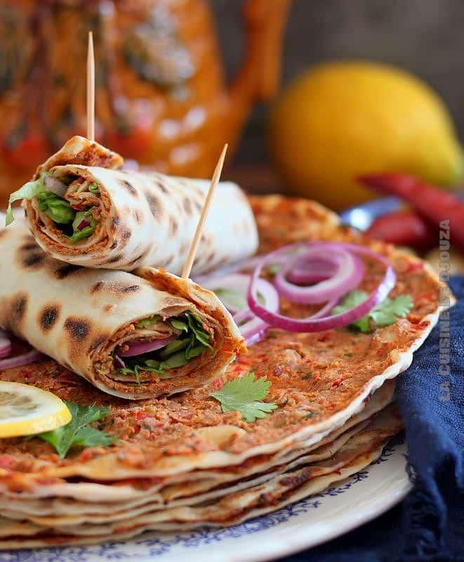 Lahmadjun turc à la viande