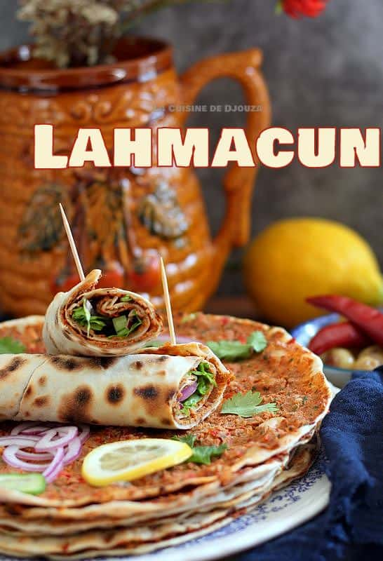recette de lahmadjoun pizza turque