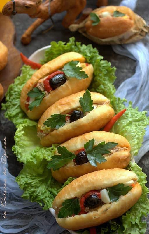 Fricassé tunisien sandwich tunisien