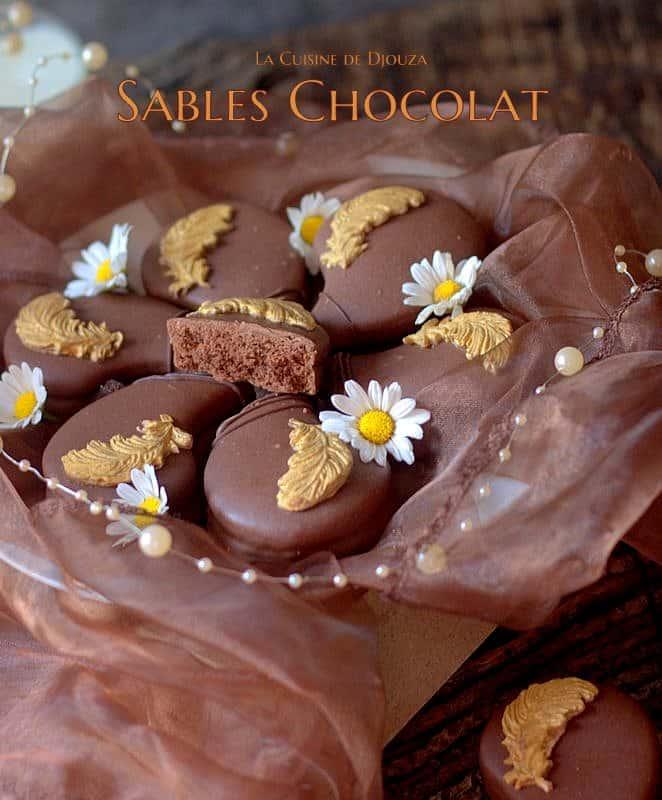 Recette de biscuits sablés larmes au chocolat