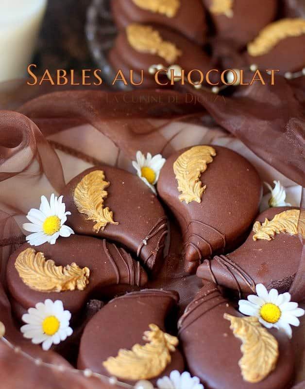 biscuits gourmands au chocolat