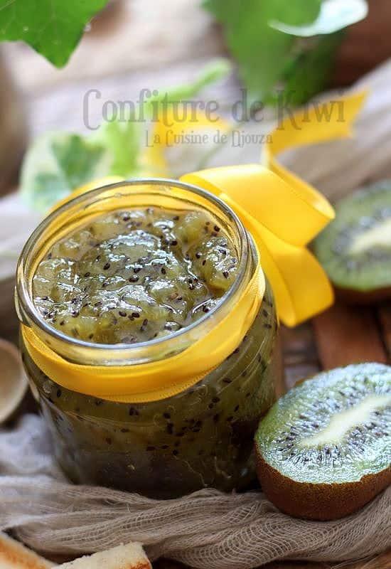 Confiture légère kiwi pommes