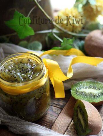 Confiture légère de kiwi et pomme