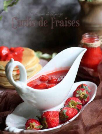 Recette de coulis de fraises surgelées