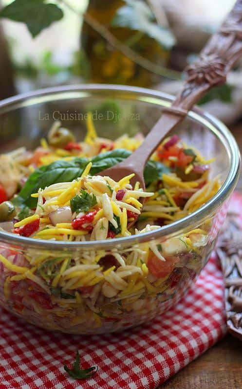 Recette de salade de pâtes tunisiennes facile