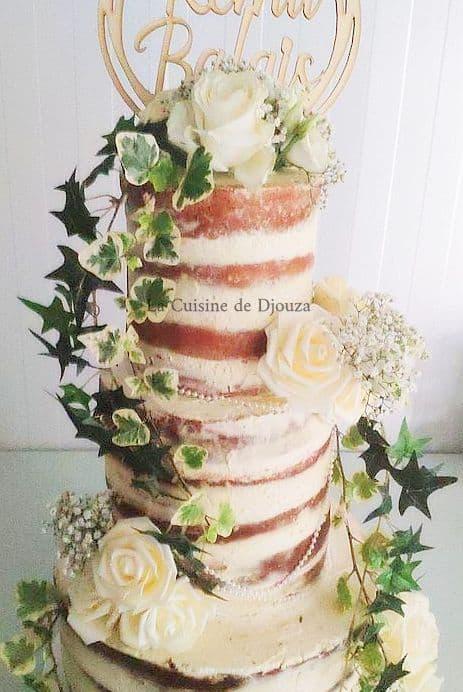 Weeding cake à la crème chantilly mascarpone