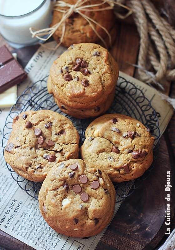 cookie facile trois goûts chocolat