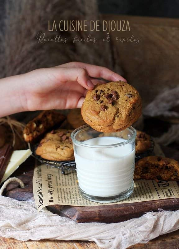 cookies 3 chocolat très gourmands