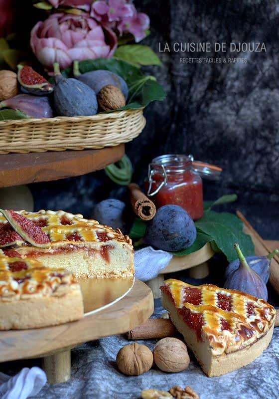 gâteau figues noix et cannelle