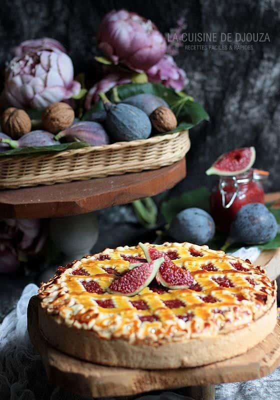 Recette du gâteau à la figue cannelle et noix