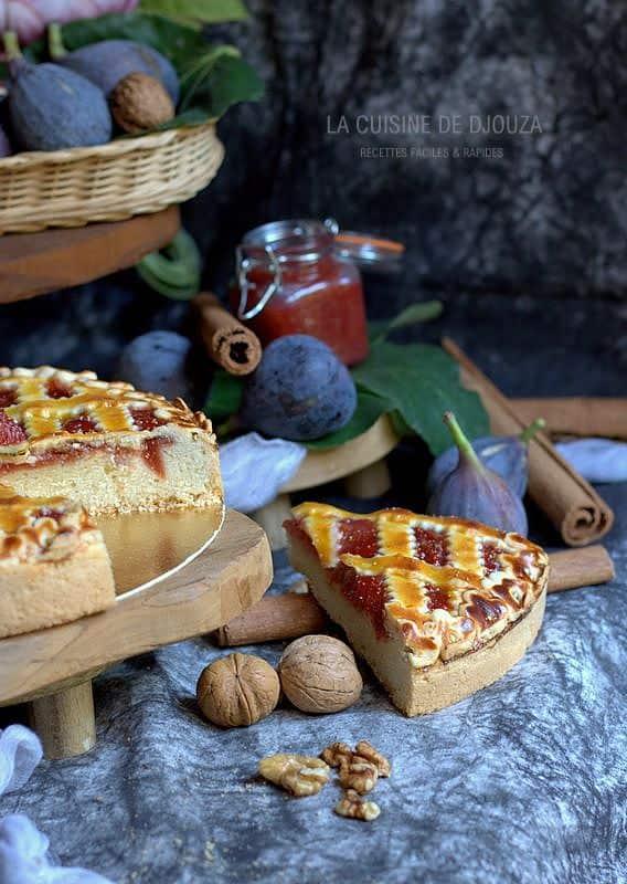 gâteau de figues cannelle et noix